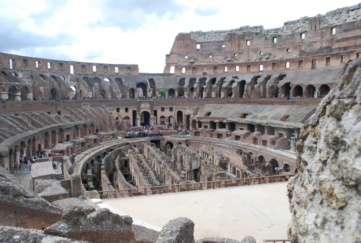 theater, Rome, Italy, tourist attraction, landmark, old, medieval, architecture, ancient, amphitheater