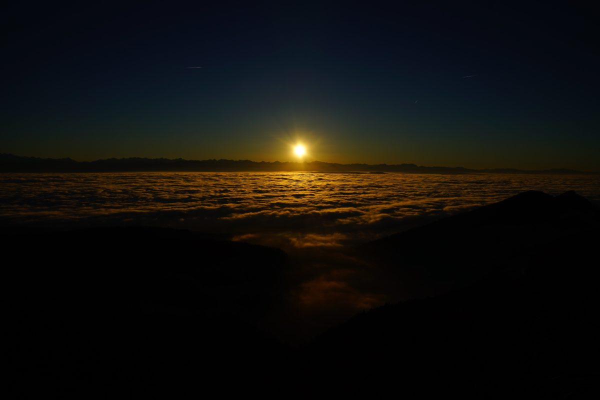 water, dusk, sunset, beach, dawn, sun, ocean, sea, sunrise