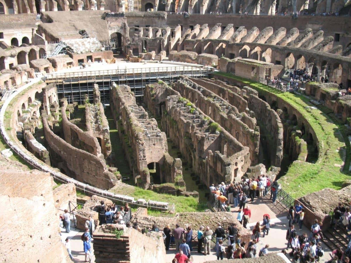 stadium, Rome, Italy, amphitheater, tourist attraction, architecture, landmark, ancient, palace, city