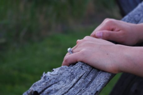 people, nature, fence, hand, ring, finger, person, outdoor