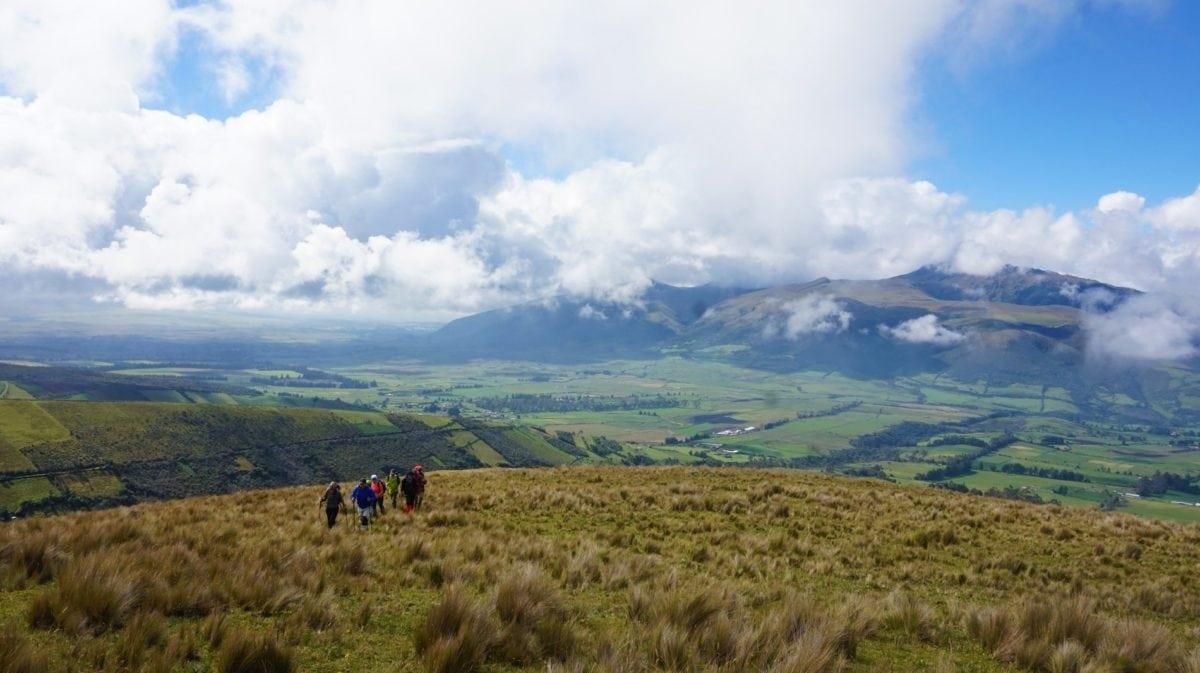 daylight, landscape, mountain, sky, hillside, field, grass, meadow