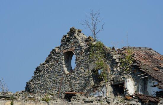 arkkitehtuuri, vanha, talo, katto, pilata, rakennus, tiili