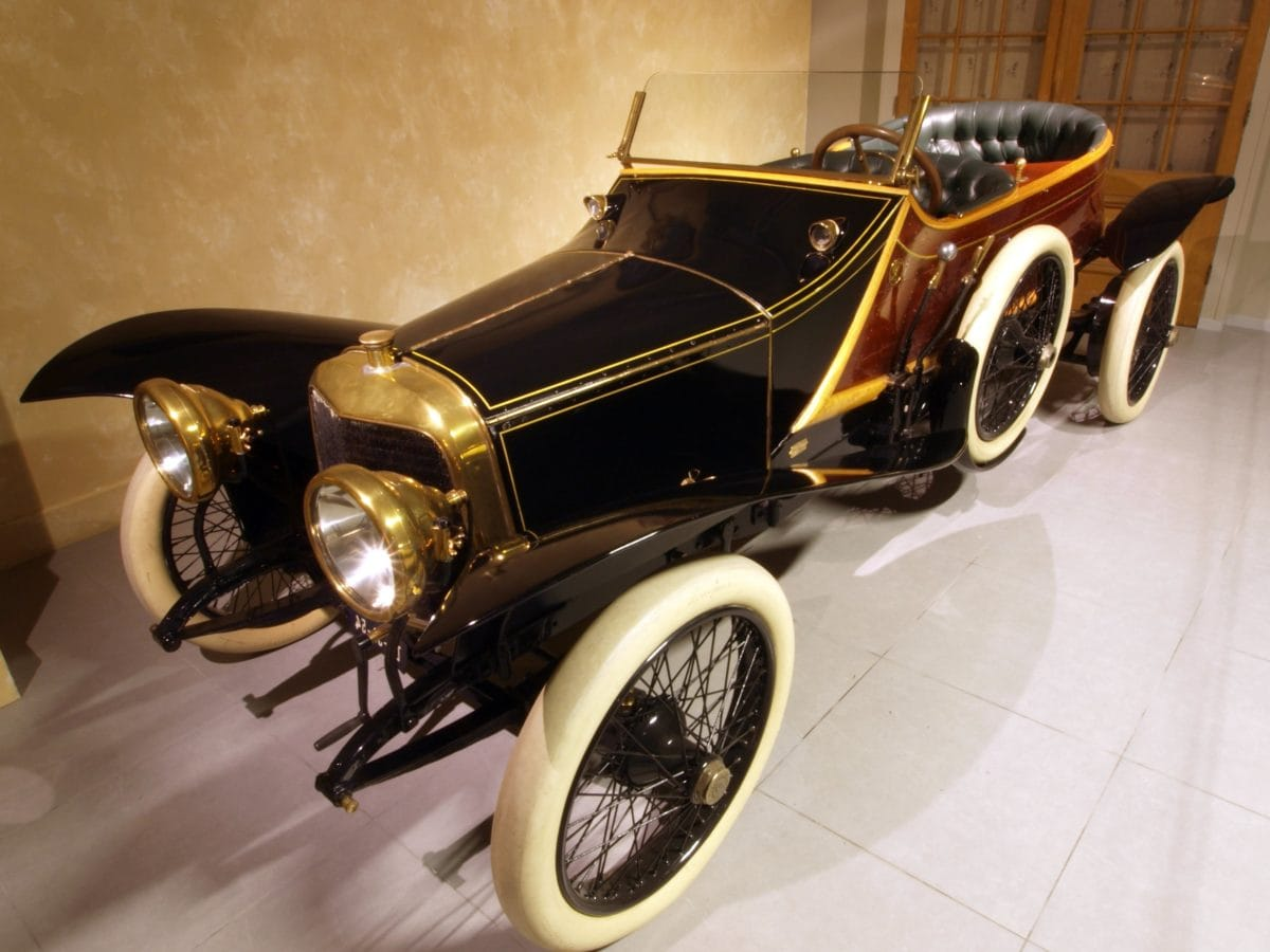 rueda, clásico, lujo, coche viejo, vehículo, automóvil, Museo, transporte, sombra