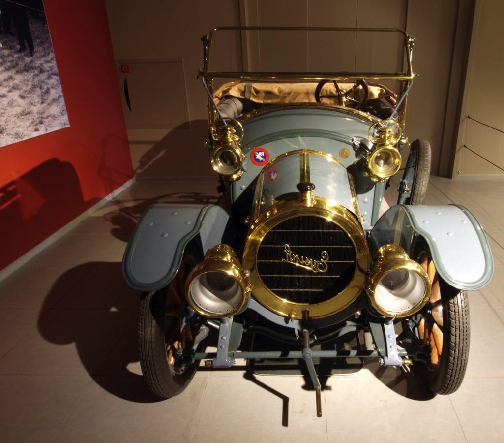vehículo, impulsión, obra clásica, Museo, viejo, cromo, lujo, rueda, sombra