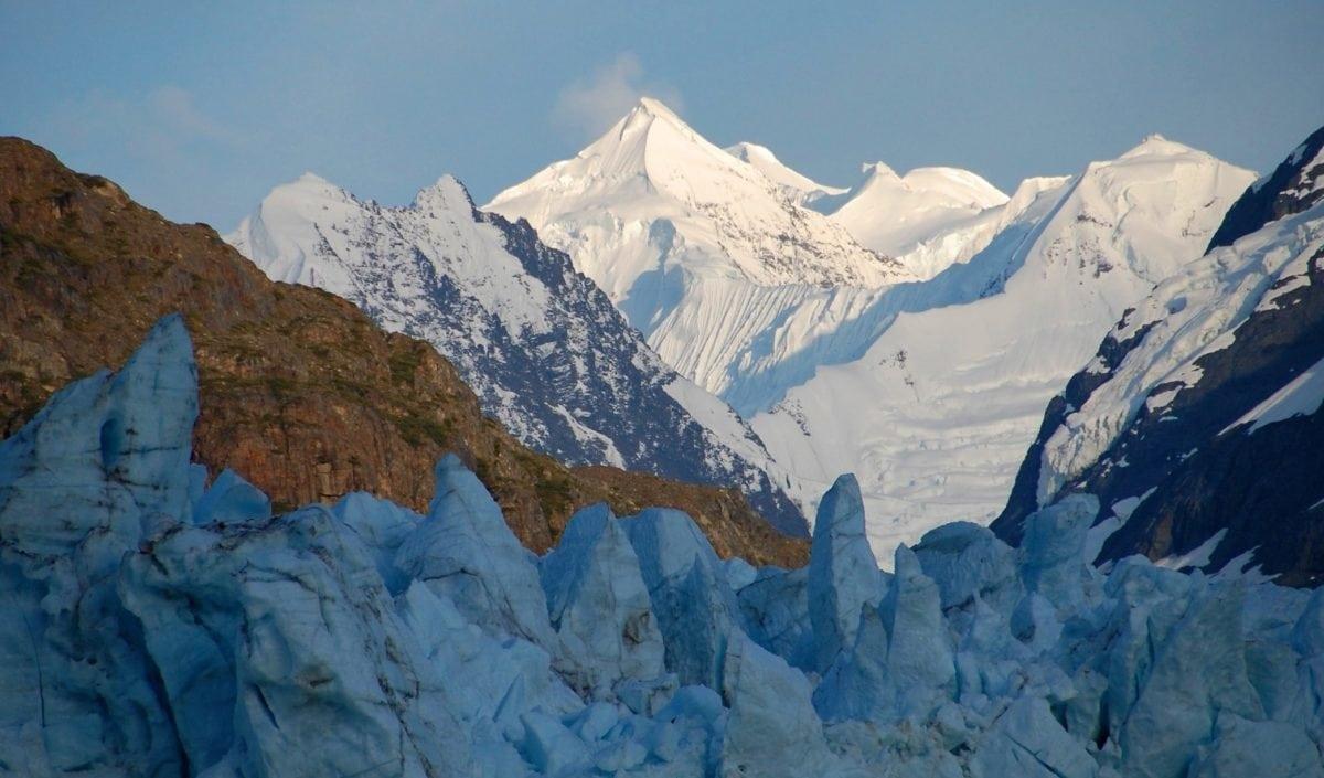 χιόνι, Χειμώνας, βουνό, παγετώνας, πάγος, τοπίο, ουρανός, υψηλός