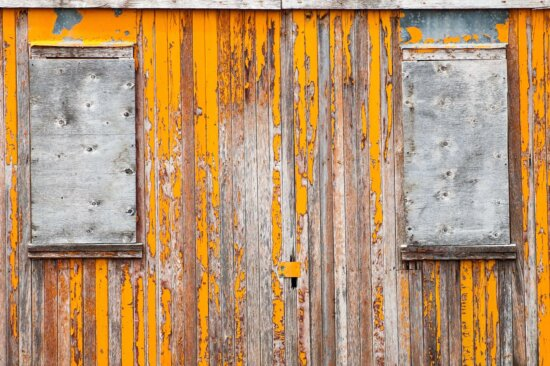 Haustür, Bügeleisen, Holz, Holz, alt, Rost, Tür, Textur, Wand, Vorhängeschloss