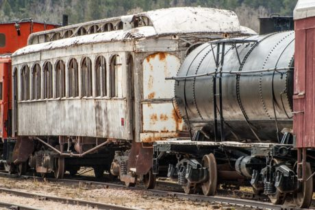 railway, shipment, steel, engine, rust, old train, wagon, locomotive