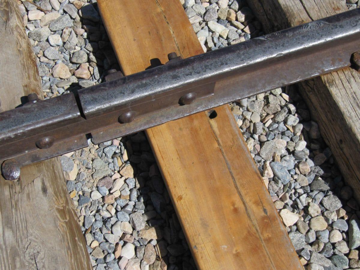 vas, vasút, fa, vonat, mozdony, kő, fa