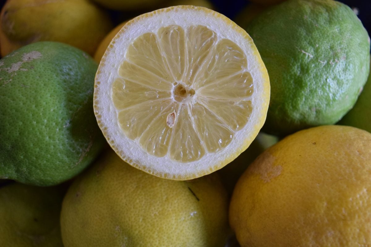 jídlo, džus, citrusy, citron, ovoce, vitamin, plátek