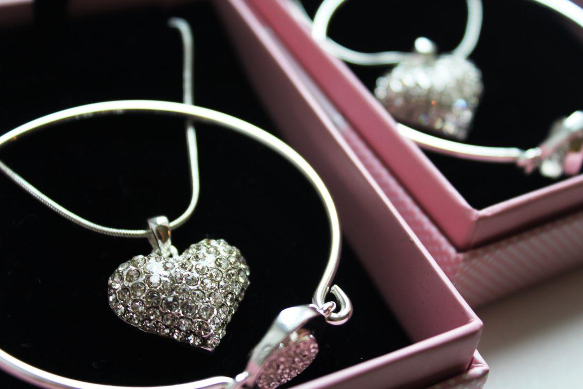 jewelry, luxury, indoor, heart, necklace