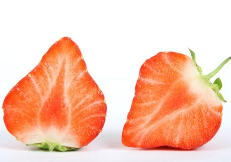φρούτα, φέτα, τροφή, φράουλα, κόκκινο, γεύμα