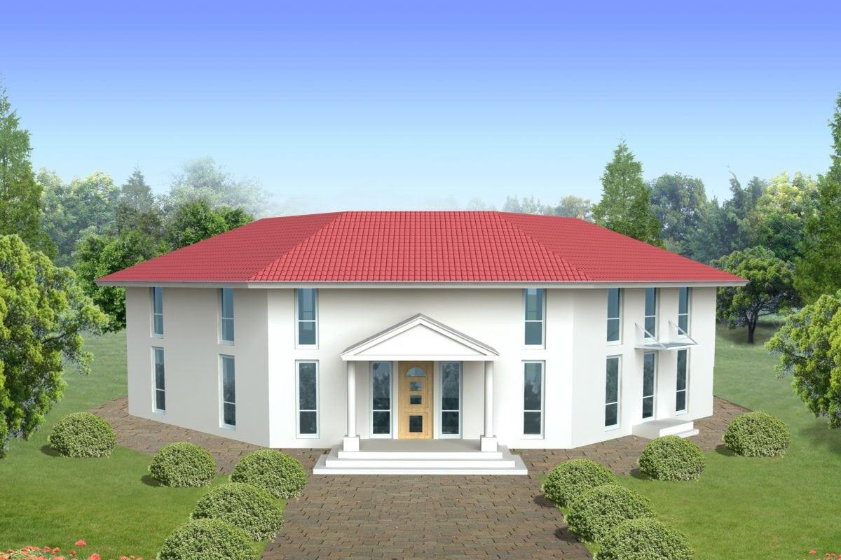 casa, arquitectura, hogar, estado, cielo azul, residencia, azotea