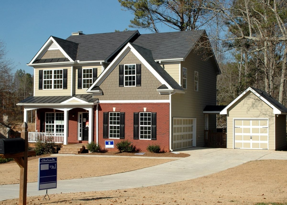 house, suburban, estate, home, driveway, architecture, garage