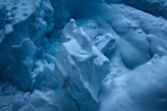 iceberg, neige, ombre, eau, glace, glacier, froid, solide, neige gelée, nature