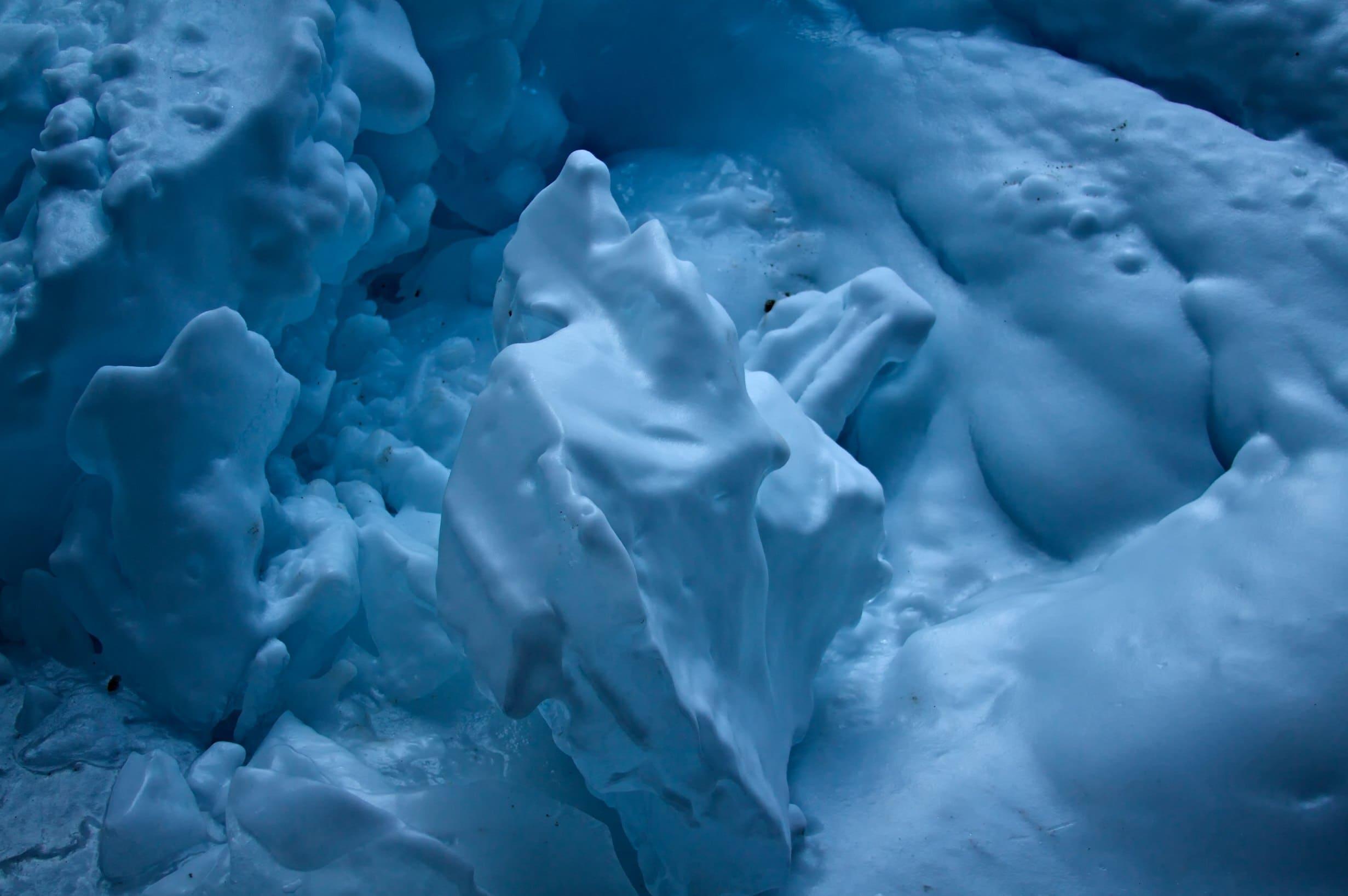 Картинка снега и льда в природе