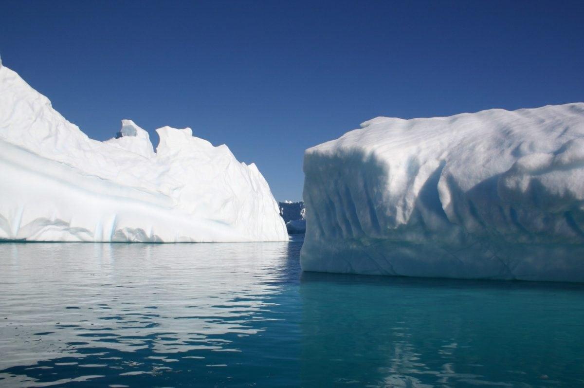 sníh, voda, ledovec, zmrazené, modrá obloha, ledovec, studená voda, LED, krajina