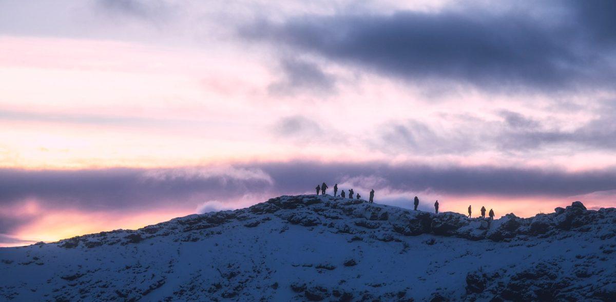 ηλιοβασίλεμα, φύση, τοπίο, χιόνι, γεωλογία, Χειμώνας, σκοτεινός ουρανός, βουνό, Υπαίθριος