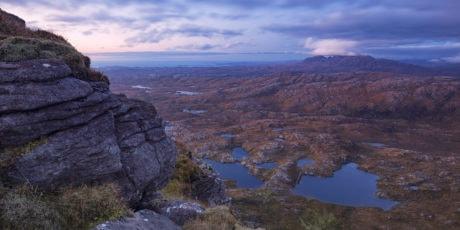 landskap, blå himmel, vann, Canyon, dal, geologi, klippe, kyst, fjell