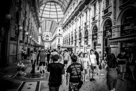monochrome, street, people, architecture, city, old, interior