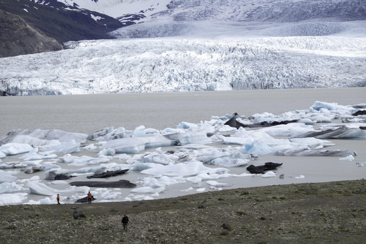 iceberg, glacier, hike, people, Greenland, landscape, snow, water, ice, mountain, cold