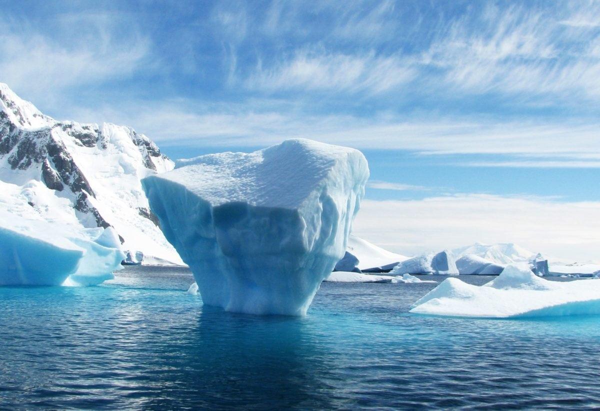 студ, Гренландия, сняг, ледник, айсберг, Арктика, вода, лед, океан, пейзаж