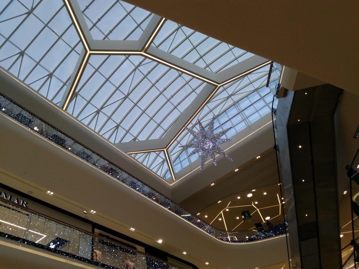 현대 건축, 세르비아, 창문, 현대, 쇼핑, 장식