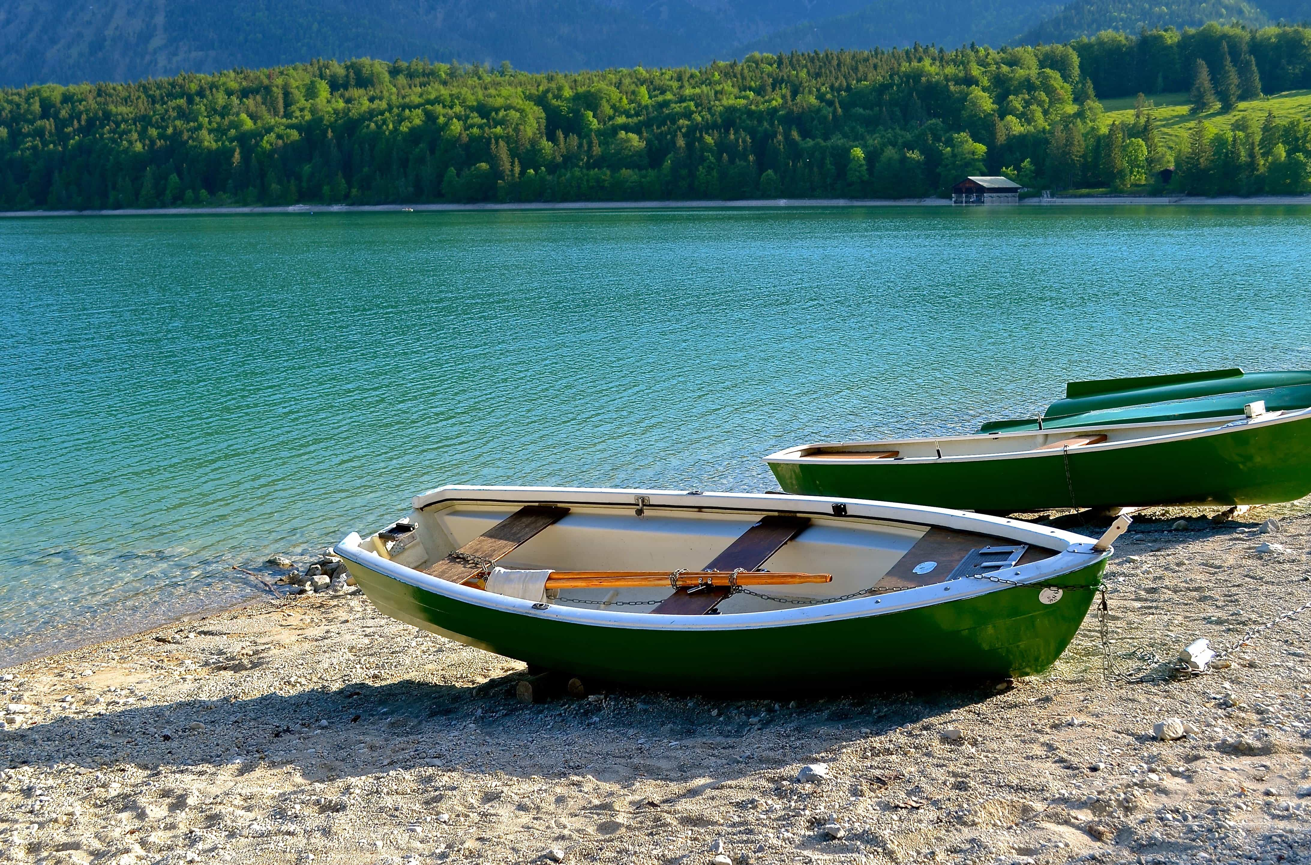 Kostenlose Bild See Wasser Sommer Kanu Boot Outdoor Boden Grun