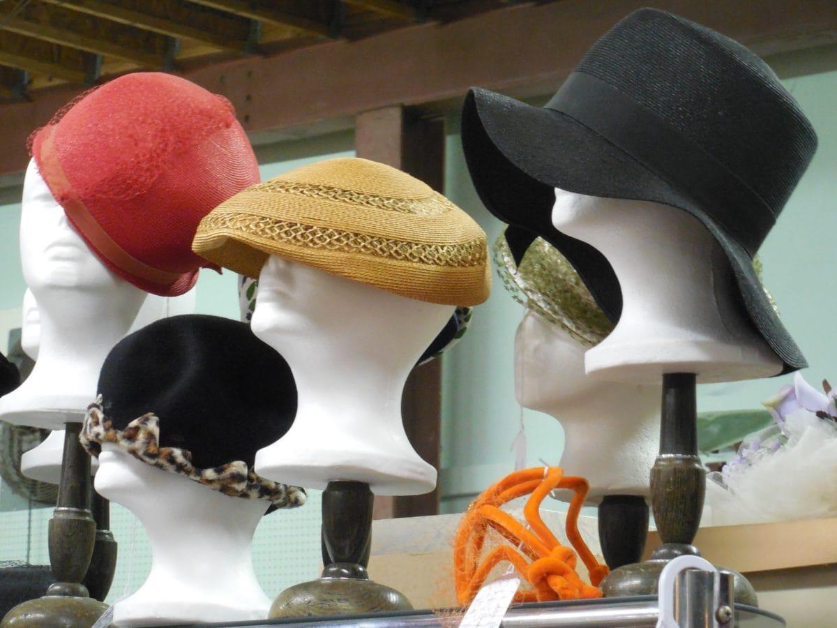 fasion, objeto, chapéu, modelo, handmade, plástico, material