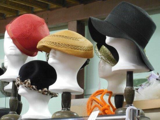 Fasion, objekt, klobúk, model, Handmade, plast, materiál