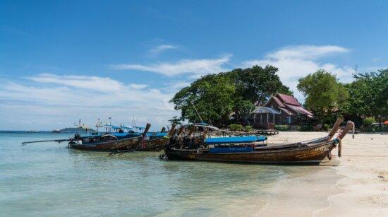 Wasserfahrzeug, Boot, Insel, Sommer, Meer, Meer, Schiff, Küste, Wasser, blauer Himmel