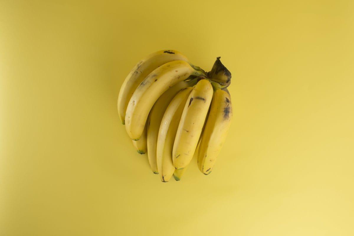 food, yellow banana, diet, organic, fruit, tasty, meal