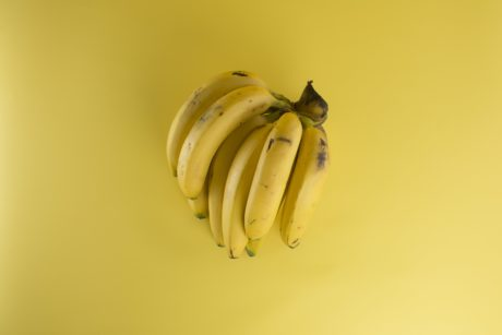 food, yellow banana, diet, organic, fruit, tasty, meal