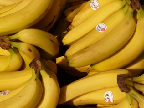 banan, kalium, vitamin, frukt, marked, ernæring, mat, vitamin, organisk