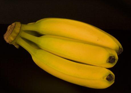 mad, frugt, banan, grøntsager, indendørs, vitamin, organisk, måltid, kost