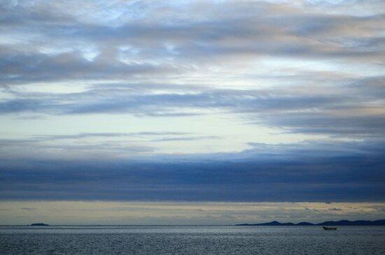 Landschaft, Wasser, Himmel, Natur, Atmosphäre, Meer, Meer, Sonne