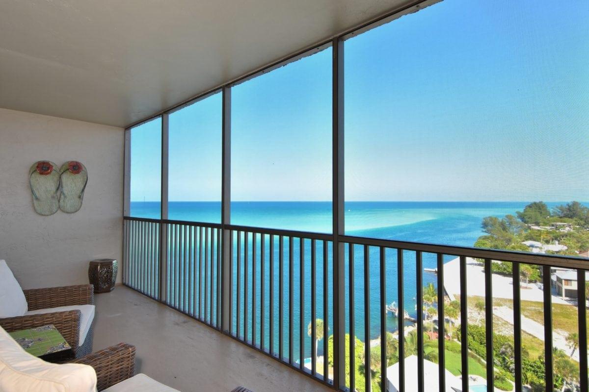 soba, prozor, paluba, ocean, more, plaža, voda, nebo, zatvoreni