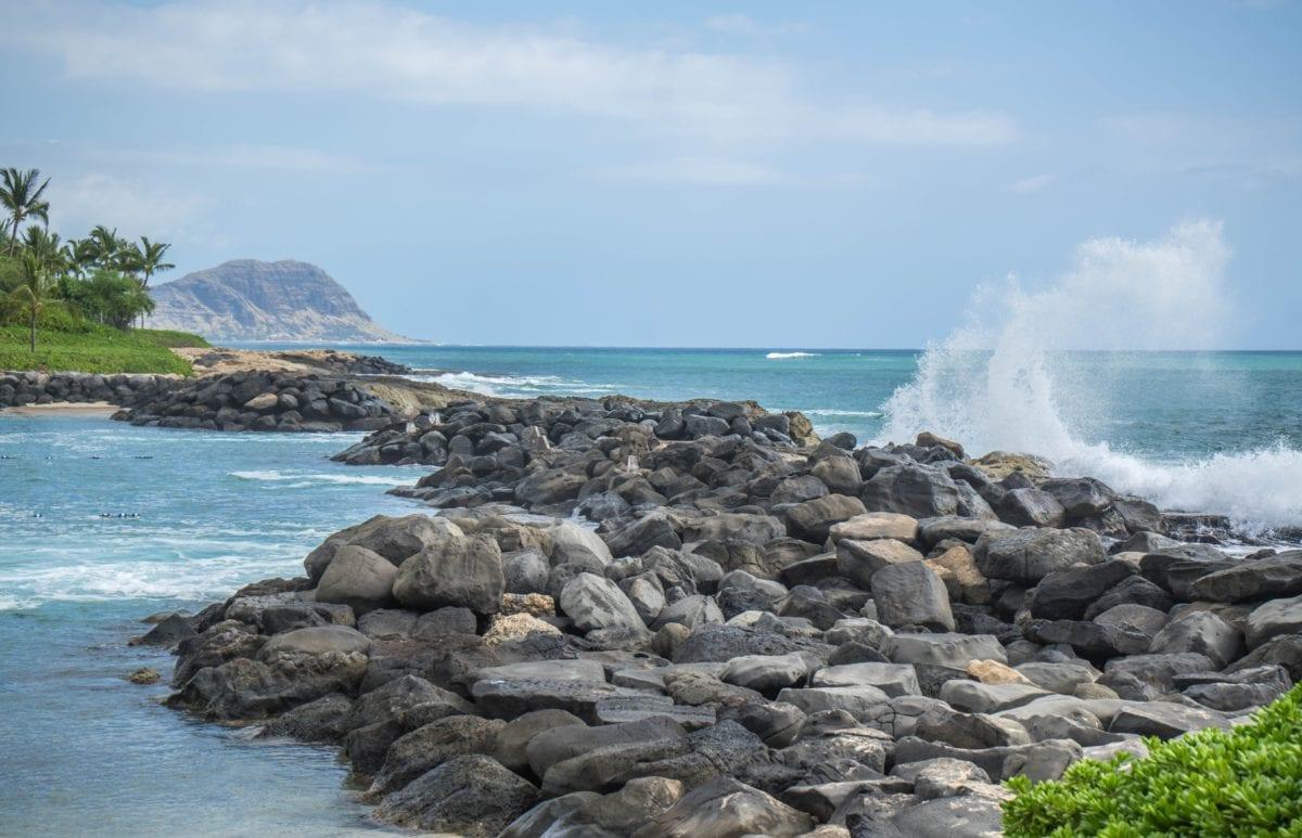 océan, eau, rivage, nature, plage, mer, côte, littoral