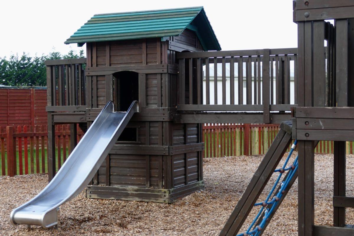 schoolyard, playground, wood, structure, architecture, house, outdoor, ground