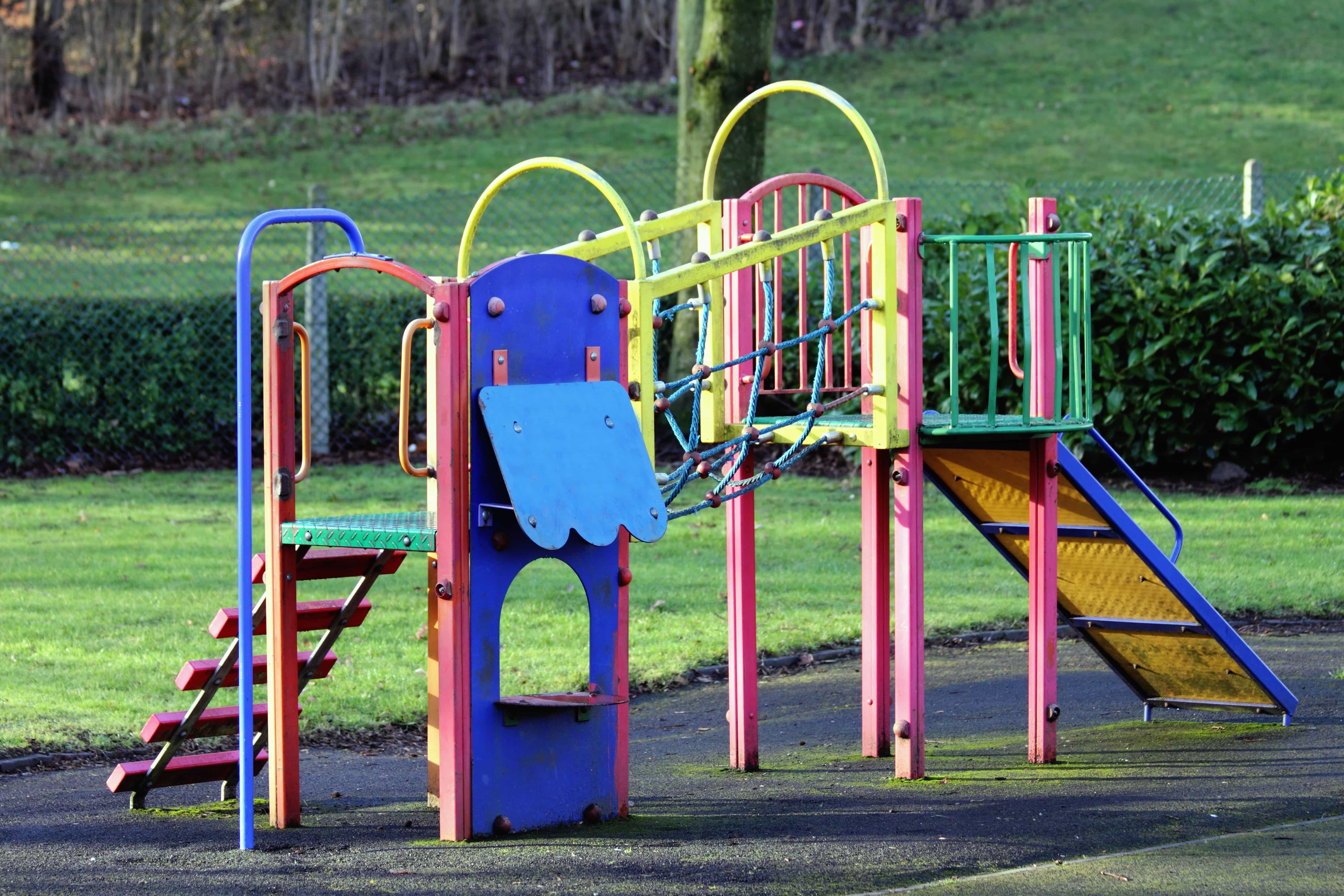 Free Picture Slide Summer Playground Area Colorful