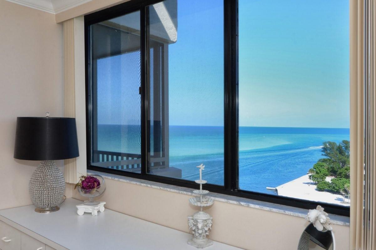 bútor, szoba, ablak, napfény, modern, belső