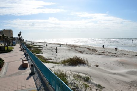 mar, paisaje, océano, Costa, orilla, playa, agua, embarcadero, cielo