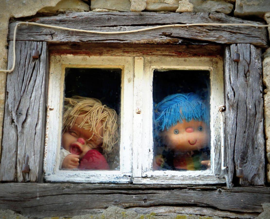 prozor, kuća, drvo, igračka, zid, vrata, rustikalni, drveni, eksterijer