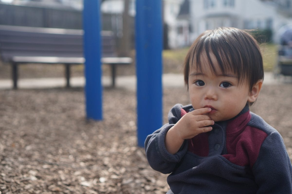 Spielplatz, Straße, Kind, Menschen, Portrait, Person, Kindheit