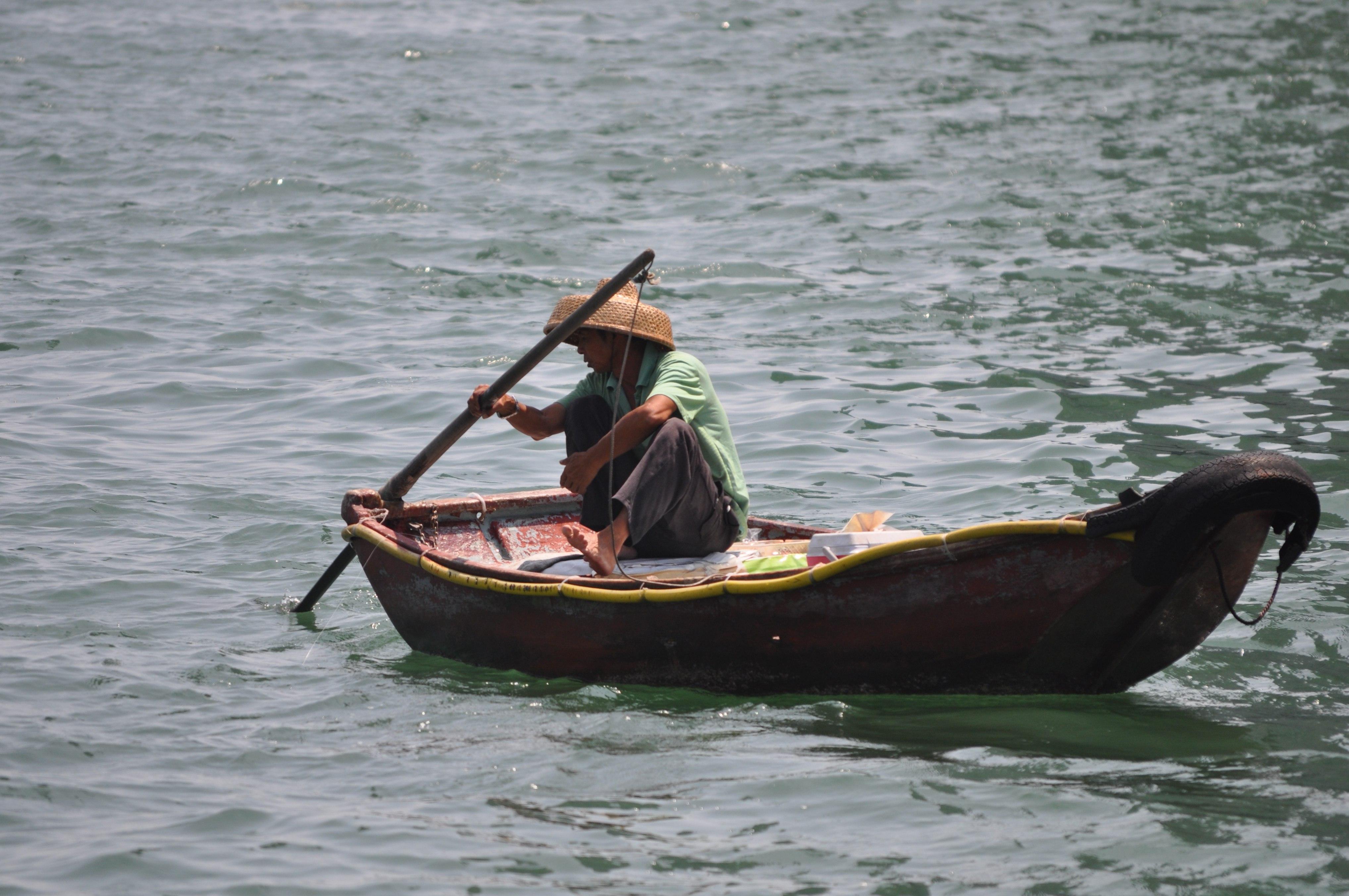 Картинки японской лодки