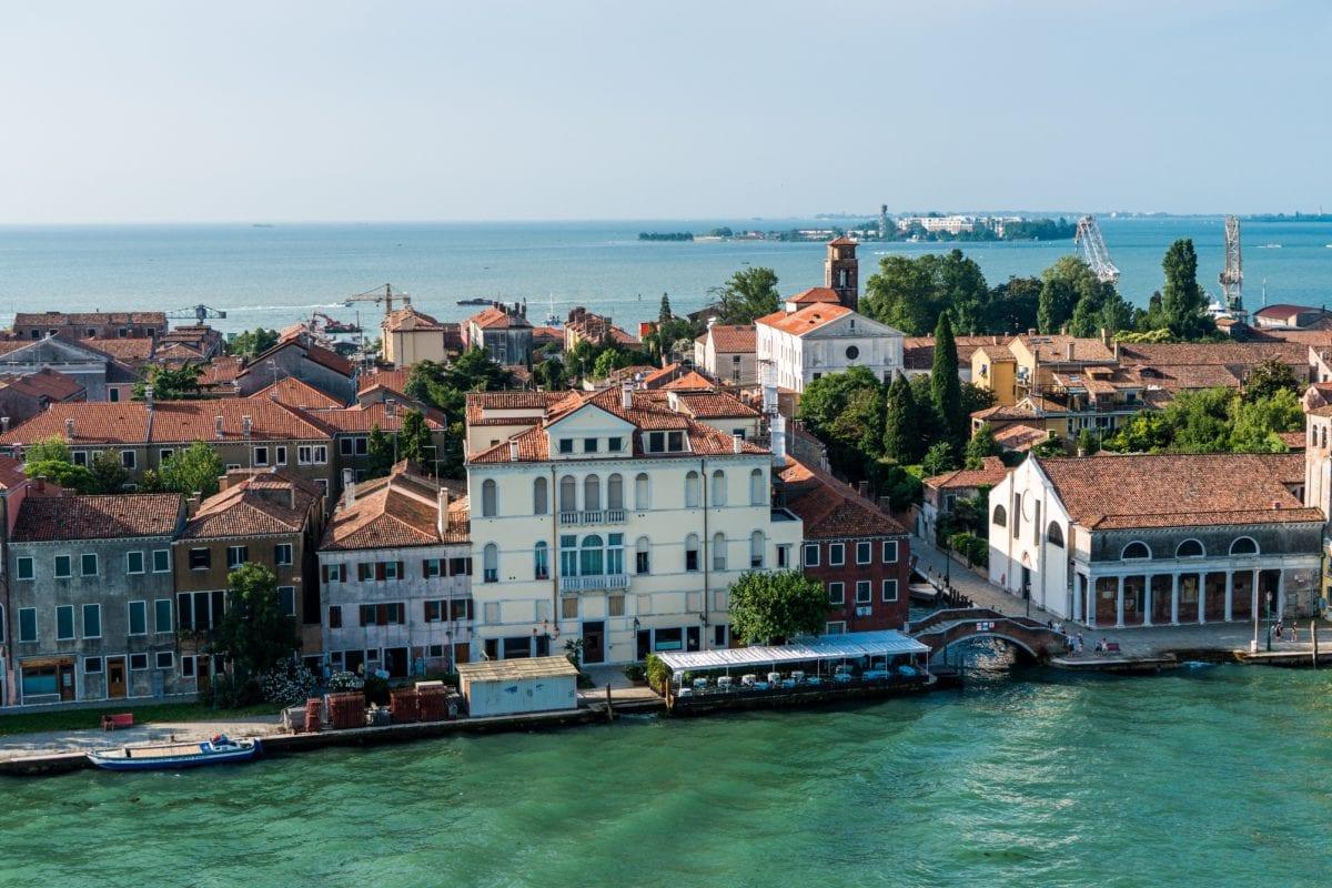 海、ヴェネツィアイタリア、ボート、旅行、観光、海岸、水、都市、町、アーキテクチャ