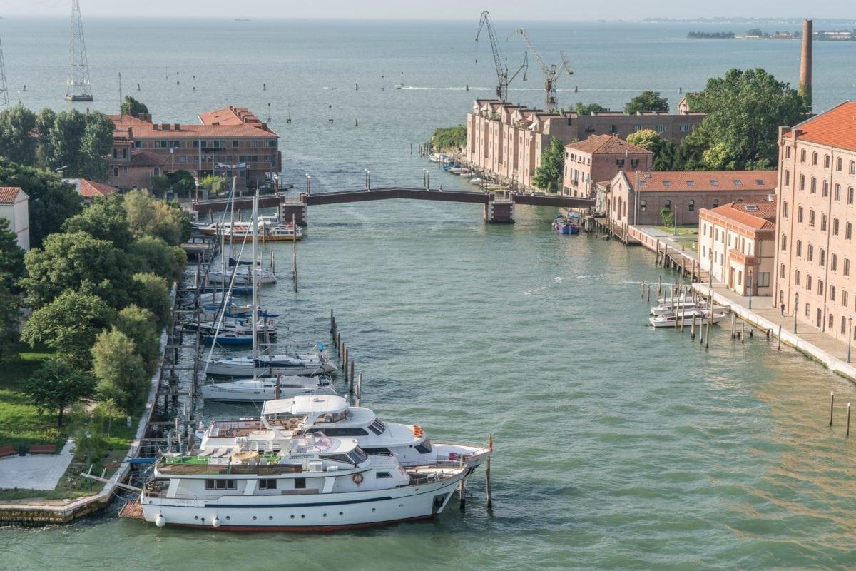 ヴェネツィアイタリア、ボート、水、船舶、海岸、海、マリーナ、船、港