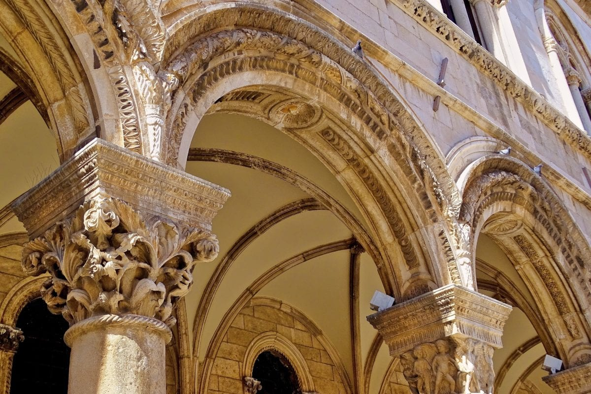 arch, church, cathedral, architecture, arch, roof, religion, exterior, facade