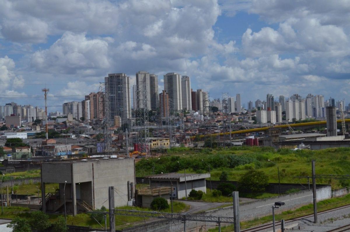 Downtown, arhitektura, urbano područje, plavo nebo, moderni grad, Cityscape, grad