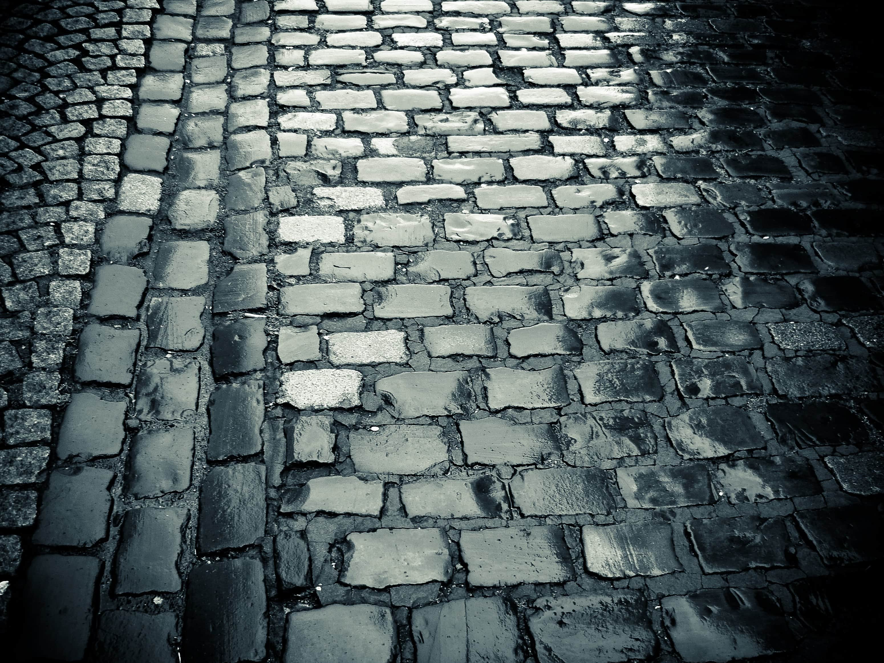 Free Picture Texture Old Pavement Brick Stone Street