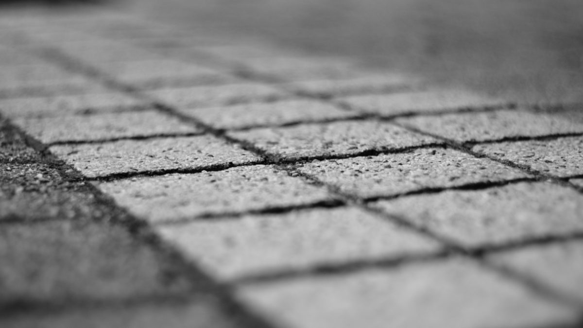 Urban, tekstury, chodnik, Cegła, szary Cegła, Squere